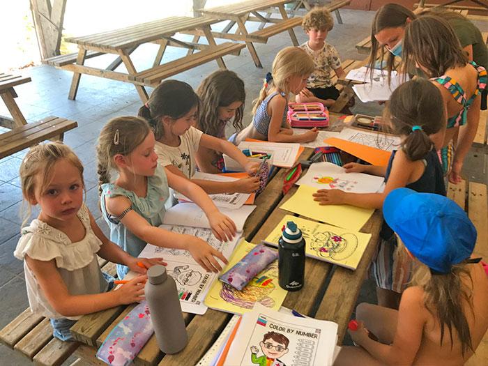 Engels & Kinderboerderijkamp