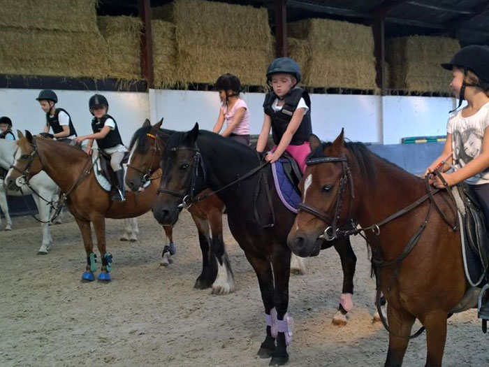 Frans & paardrijden