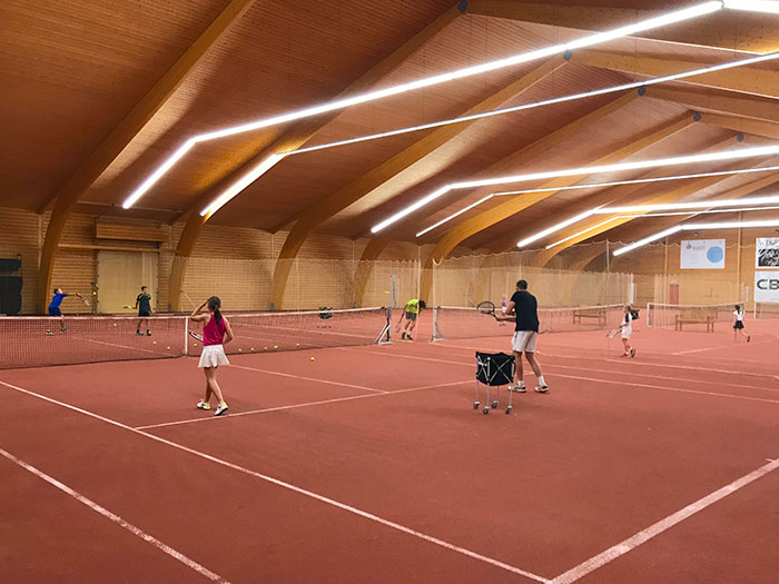 Frans & tennis