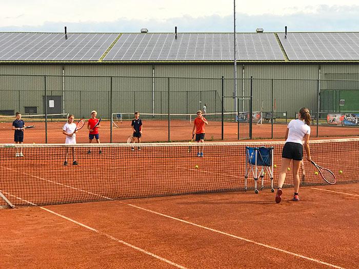 Engels & tennis